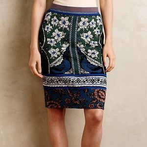 Moth Anthropologie Knit Sweater Pencil Skirt